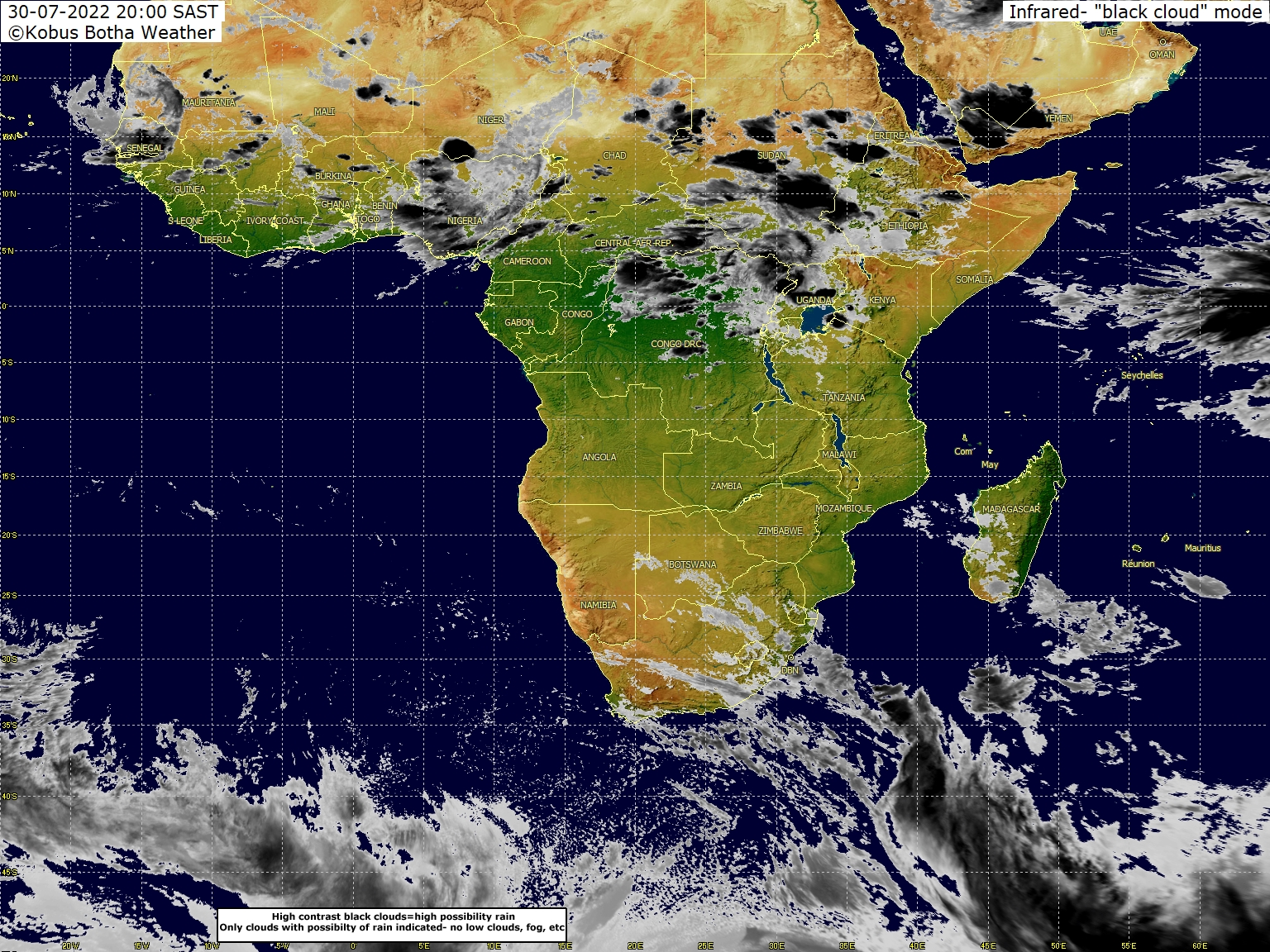 Daily maun weather 4 30w to 60e wide satellite weather image southern africa oceans from kobus botha gumiabroncs Choice Image