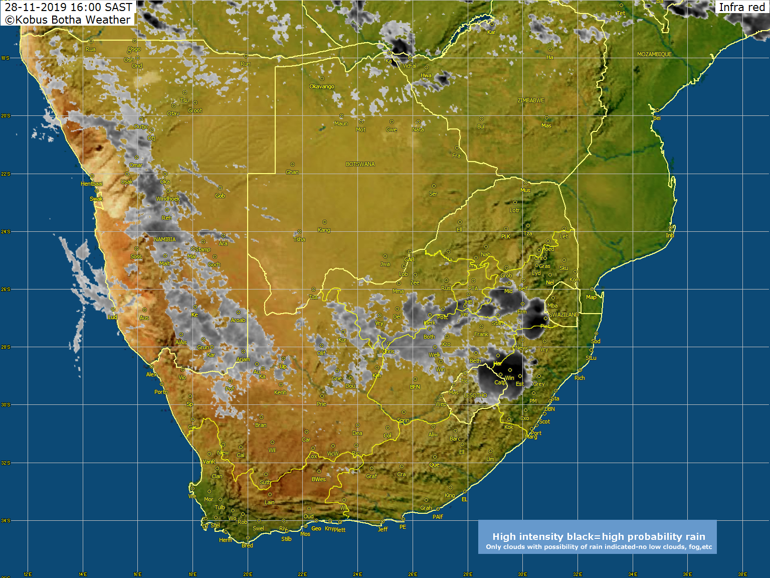 Kobus Botha | Weather Photos of Southern Africa, Weather and Rain ...