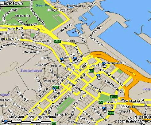 Street Maps South Africa ~ CINEMERGENTE